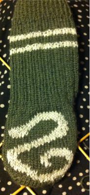 Slytherinsocka